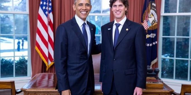 Lousteau fue recibido por Obama en la Casa Blanca
