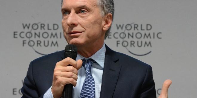 """Macri en Davos: """"Venimos a decirle al mundo que pueden confiar en la Argentina"""""""