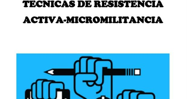 Manual de micromilitancia y técnicas de resistencia activa