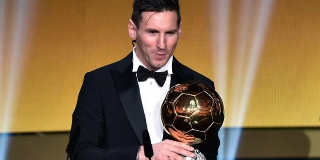Messi ganó su quinto Balón de Oro
