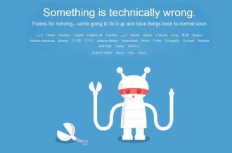 Se cayó Twitter!