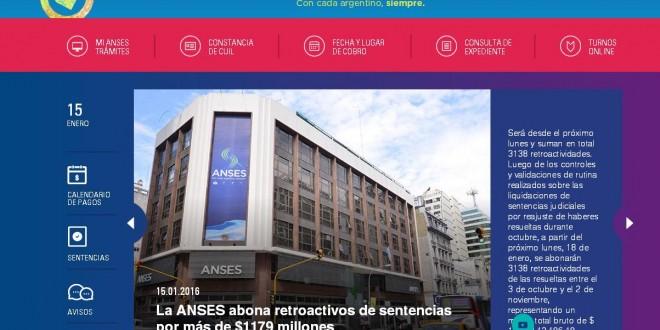 Trámites pueden realizarse desde la web de la Anses