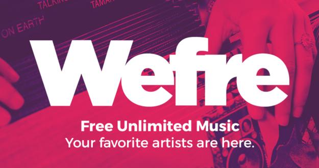 Wefre, el rival de Spotify que es totalmente gratis