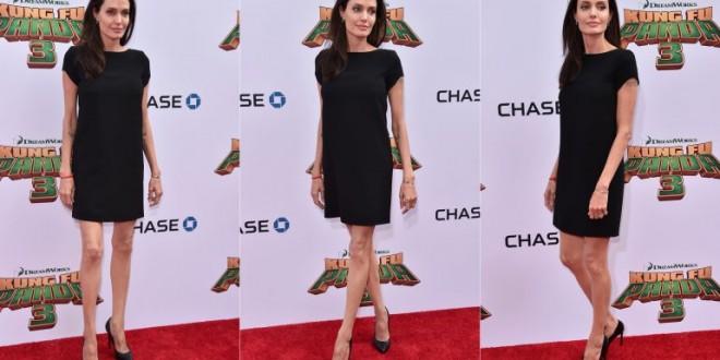 Preocupación por las piernas raquíticas de Angelina Jolie
