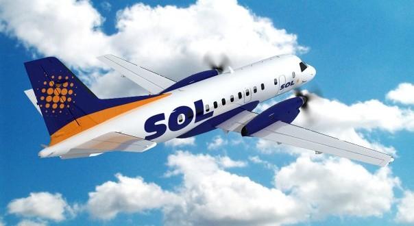 La aerolínea SOL presentó la quiebra
