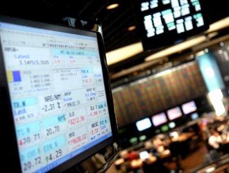 A dos horas del cierre, la Bolsa sube más de 5%
