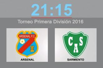 Arsenal y Sarmiento de Junín se enfrentan en el sur del Gran Buenos Aires