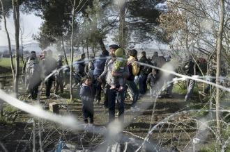 El cierre de fronteras amenaza con convertir a Grecia en un campamento
