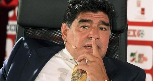 El comunicado de Diego Maradona