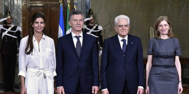 El presidente de Italia le anunció a Macri que visitará la Argentina junto a empresarios