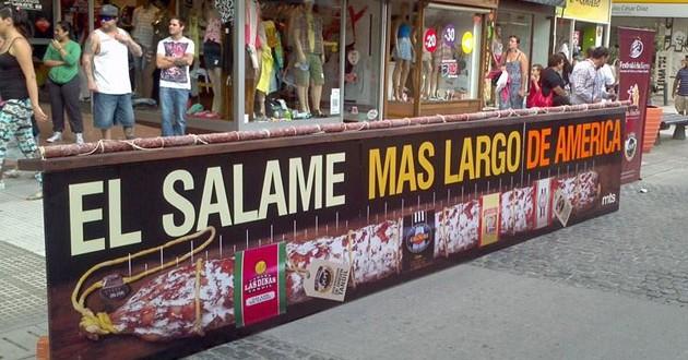 El salame más grande de América