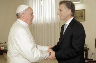 """En el Vaticano, esperan """"muy contentos"""" la visita de Macri para reunirse con Francisco"""