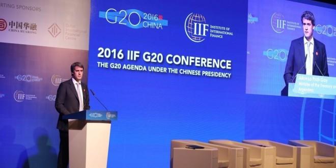 G20: Prat Gay mantuvo encuentros con sus pares de finanzas en Shanghai