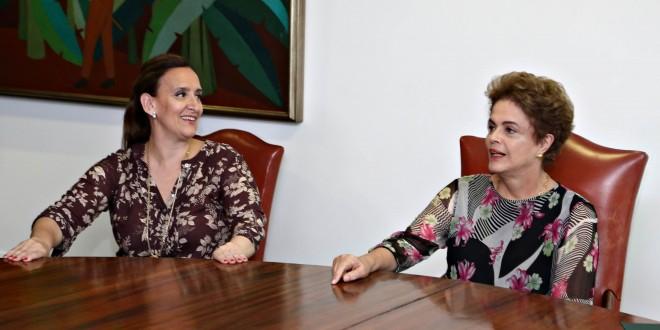 Gabriela Michetti se reunió con Dilma Rousseff