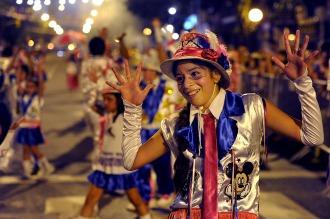 Los festejos del carnaval porteño comienzan a puro ritmo murguero