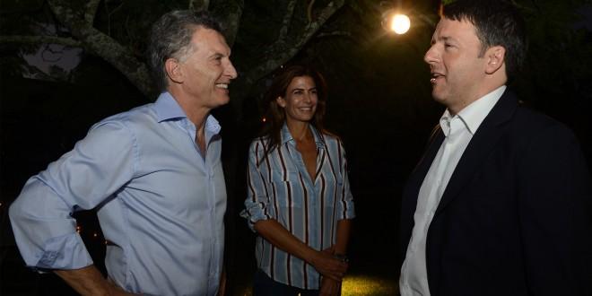 Macri recibió al Primer Ministro de Italia