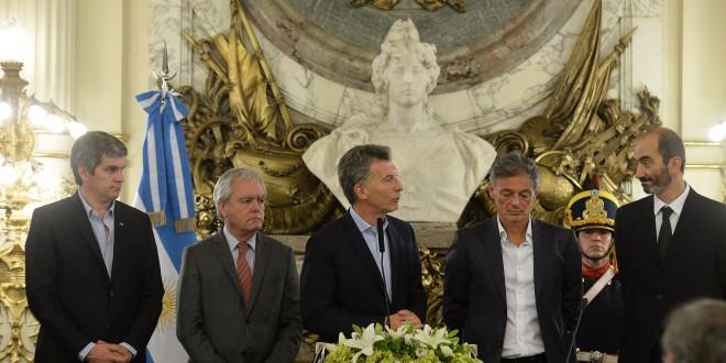 Macri tomó juramento al nuevo titular de la Comisión Nacional de Defensa de la Competencia