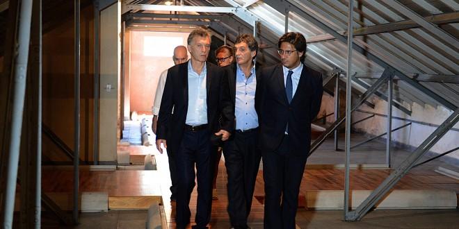 Macri visitó la ex ESMA