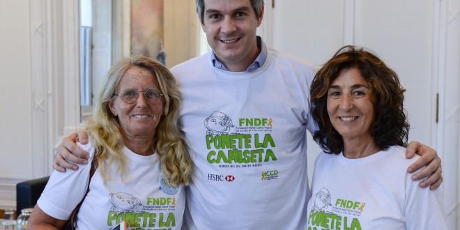 Marcos Peña se sumó a la campaña de una fundación que ayuda a chicos con cáncer