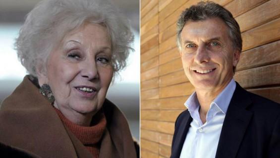 Mauricio Macri recibirá el martes a Estela de Carlotto