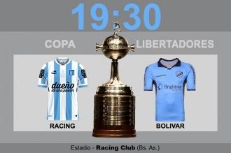 Racing inicia su objetivo continental frente al Bolívar