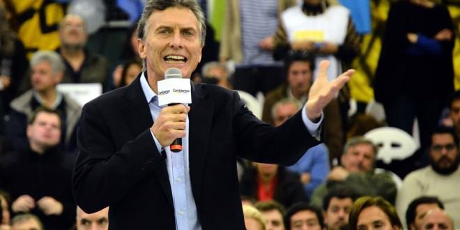 La primera cadena nacional de Macri