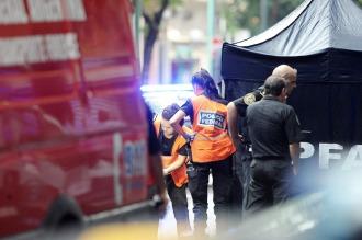 El hombre asesinado a tiros en Constitución era un efectivo de la Metropolitana
