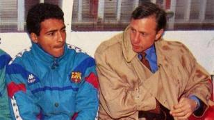 """""""Cruyff fue el mejor entrenador que tuve"""", dijo Romario"""