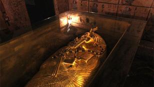 ¿Hallaron cámaras secretas en tumba de Tutankamón?