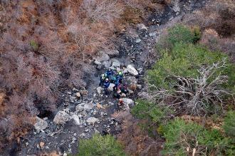Un minuto de silencio en los Alpes a un año de la caída del avión de Germanwings