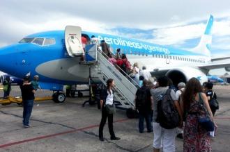 Aerolíneas Argentinas registró un 85% de puntualidad en febrero