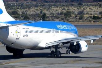 Aerolíneas mantendrá tres vuelos diarios directos Buenos Aires-Río Gallegos