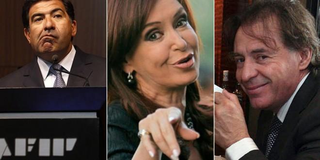 Cristina Kirchner, Ricardo Echegaray y Cristóbal López fueron denunciados ante la Justicia por la millonaria deuda del Grupo Indalo con la AFIP