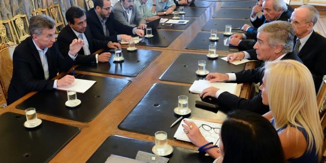 El Presidente Mauricio Macri se reunió con el ministro de Comunicaciones