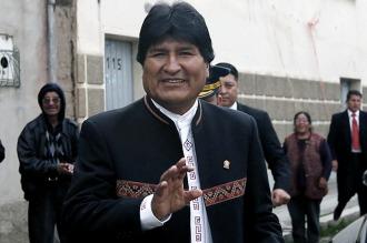 """Evo Morales pidió que no le pregunten """"nunca más"""" por el hijo que tuvo en 2007"""