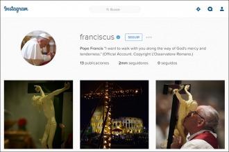 Francisco superó los dos millones de seguidores en una semana en Instagram