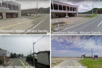 Google muestra imágenes 360° de Japón antes y después del tsunami de 2011