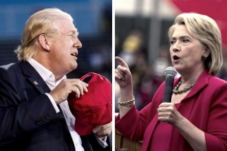 """Hillary Clinton y Trump esperan que el """"supermartes 2"""" les despeje el camino"""