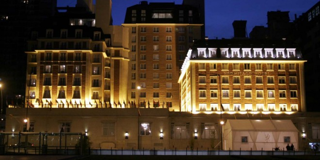 Clausuran el Hotel Hermitage en Mar del Plata