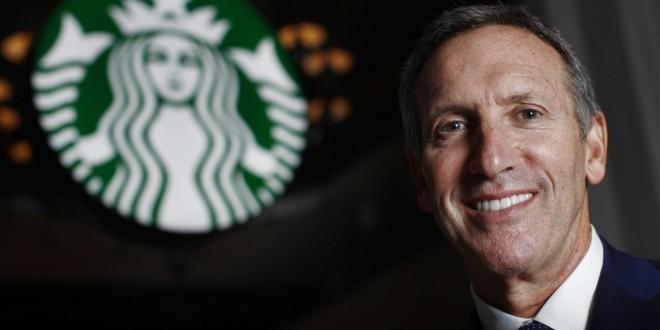 De la pobreza a ser el millonario dueño de Starbucks