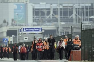 La selección belga suspende su entrenamiento tras los atentados