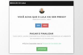 Las brasileños hacen apuestas por Internet sobre si Lula terminará en prisión