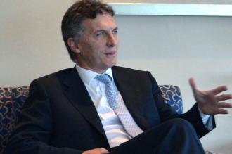 """Macri dijo """"estar seguro"""" de que el 14 de abril se cierra el conflicto con los holdouts"""