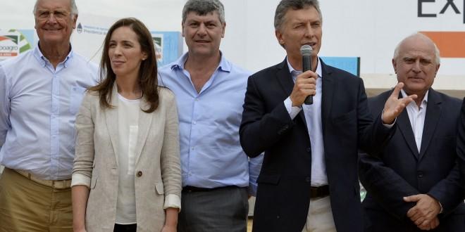 """Macri, en Expoagro: """"Tenemos que llenar el país de fábricas"""""""