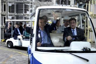 """Macri, en la planta de Toyota: """"El camino es recuperar la cultura del trabajo"""""""