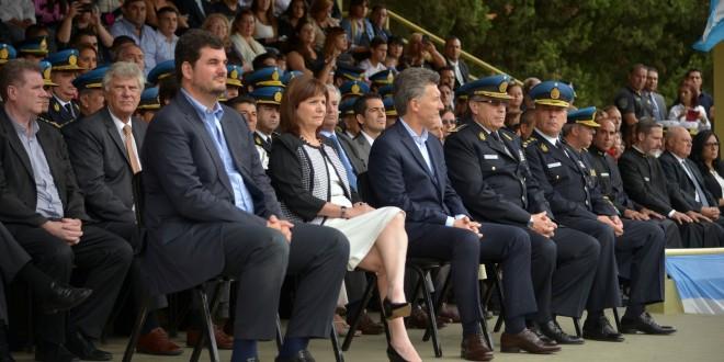 Macri inauguró el ciclo lectivo de los cadetes de la Policía Federal