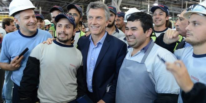 Macri inauguró la ampliación de la planta de Toyota en Zárate