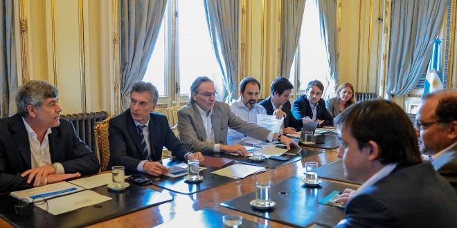 Macri recibió el plan de gestión del Ministerio de Agroindustria