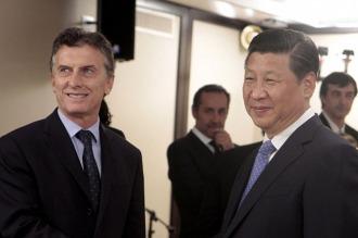 Macri tendrá su primera bilateral con el presidente de China en Washington