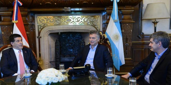 Mauricio Macri recibió al presidente de Paraguay
